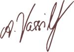 Athanasia Vassiliadou Unterschrift