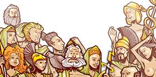 12 Götter des Olymp