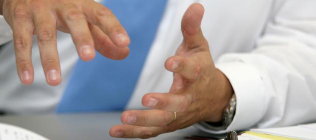 Kommunikation mit Hand und Fuß